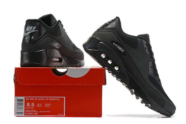 nike chaussures air max 90 ultra essential og infrared noir