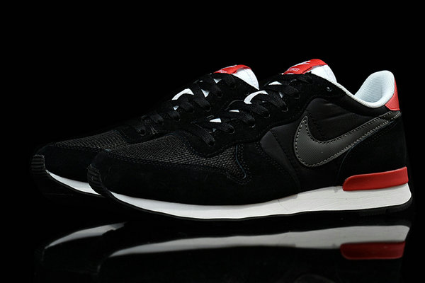 nike chaussures internationalist running chicago classic noir rouge