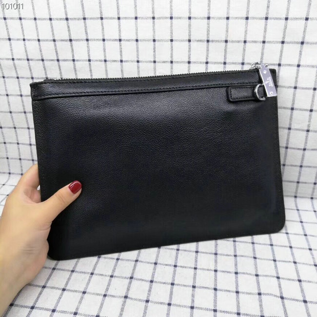 nouveau gucci clutch sac black cowhide deer head angle gg 04