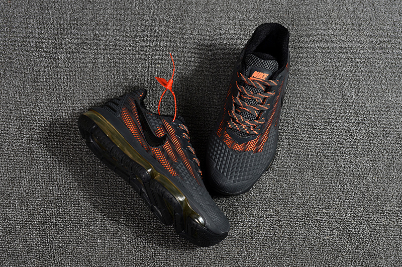 officiel 2018 nike air max flair basket charcoal orange