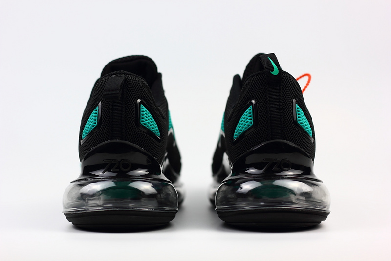 unisex nike air max 720 running chaussures nano black green