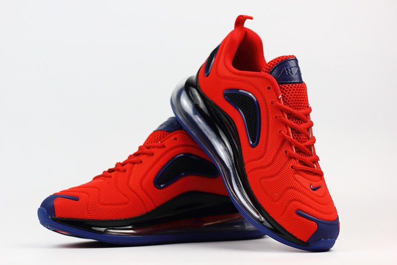 unisex nike air max 720 running shoes nano red black