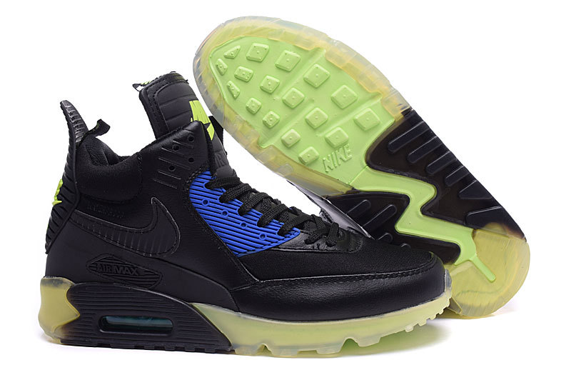 winter 2015 air max 90 parfaite mode green boot