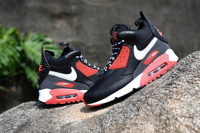 winter 2015 air max 90 parfaite mode leather run90