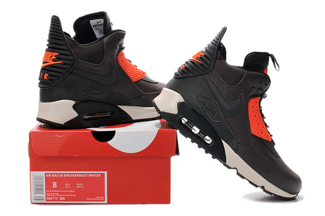 winter 2015 air max 90 parfaite mode patins brun