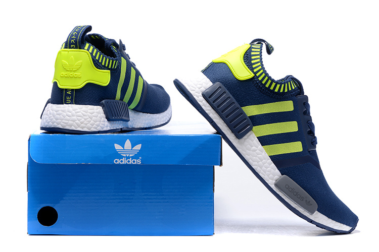 adidas 2016 chaussures originals nmd runner pk lowjeune blue