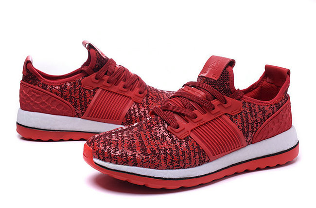 adidas chaussures hommes pure boost x tr training grand rouge noir