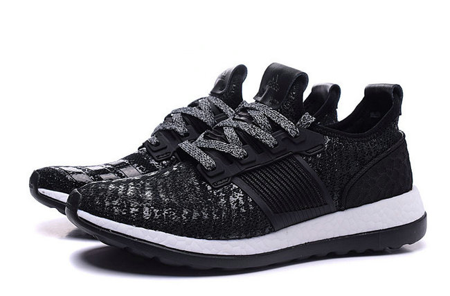 adidas shoes man pure boost x tr training noir blance