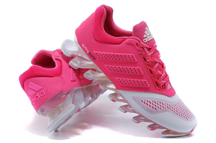 huge discount 5725d d6254 adidas Springblade shoes de formation women rose Blanc