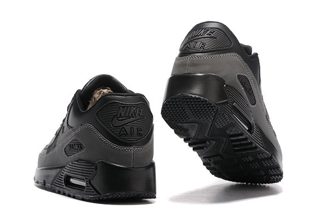 air max 90 shoes nike tendance retro black gray
