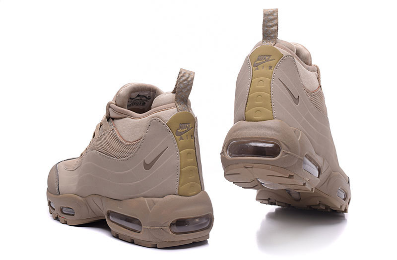 air max sneakerboot patch 95 class leather brown,vrai mid air max 95 pas cher
