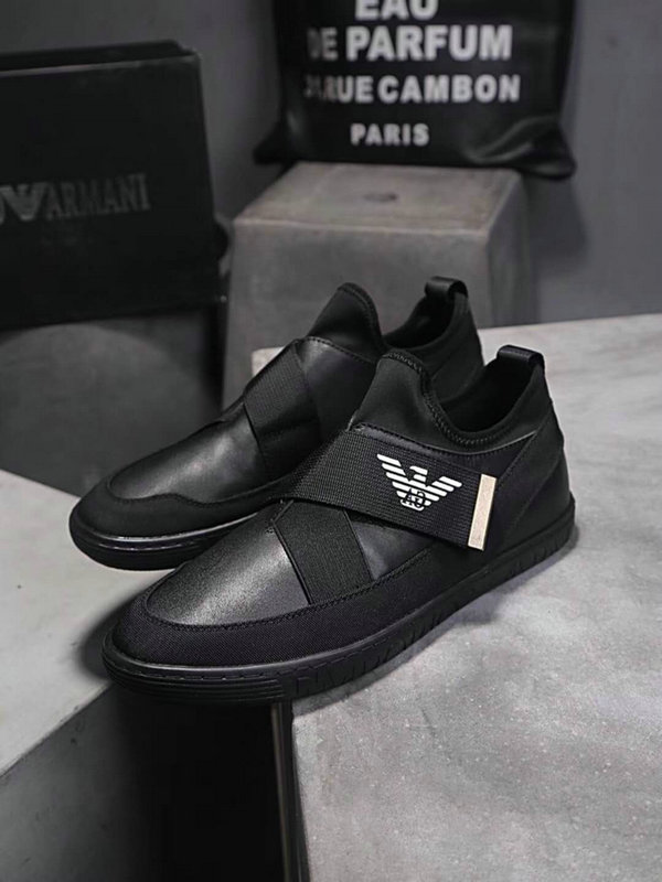 armani exchange chaussures online uk  casual chaussures magic sticker