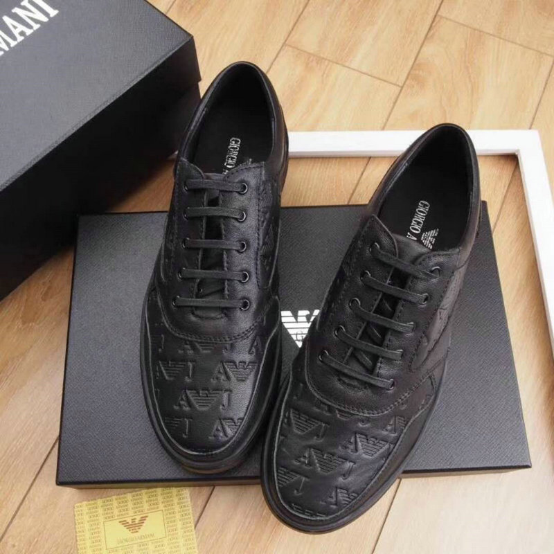 armani exchange chaussures online uk  cowhide embossing