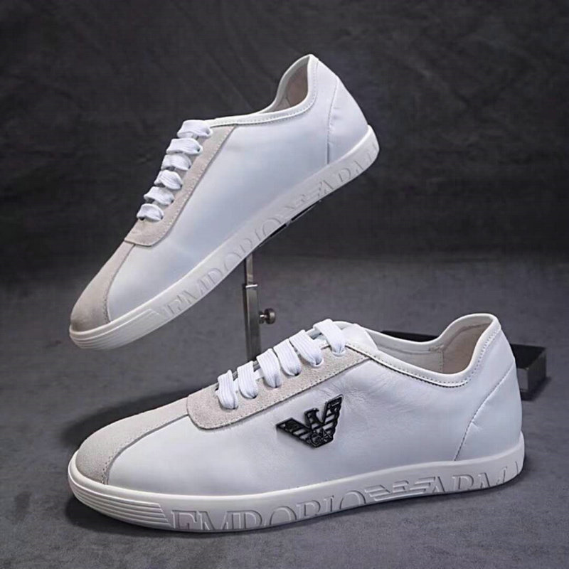 armani exchange shoes online uk  tie low shoes white