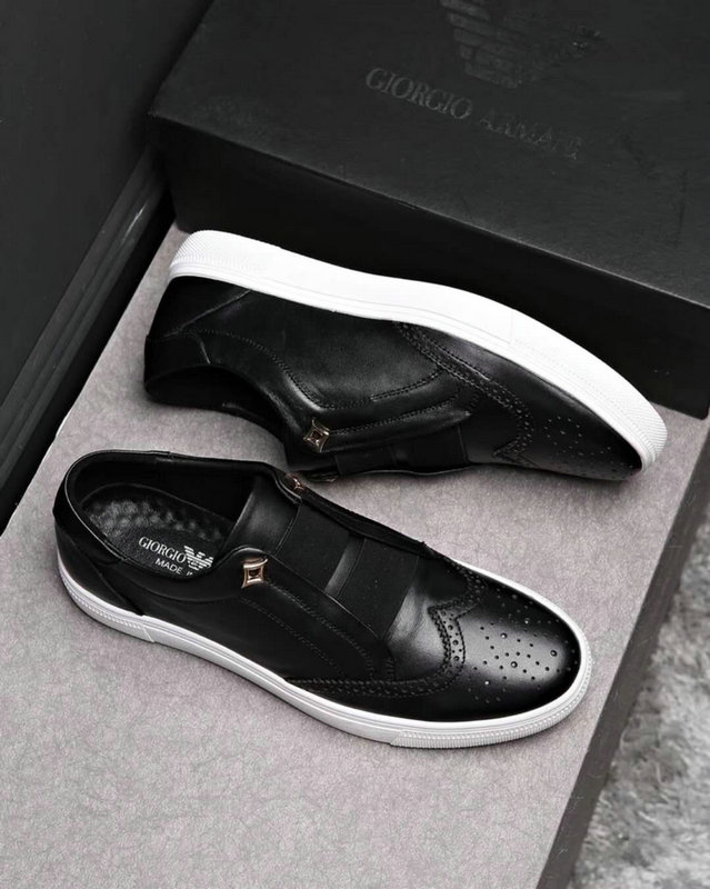 armani exchange chaussures online uk  punching cowhide