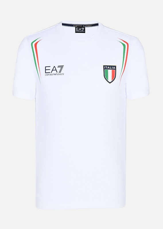 armani jeans t-shirt italy flag