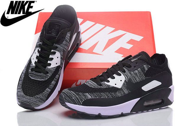 basket flyknit air max 90 hommes space gris pas cher
