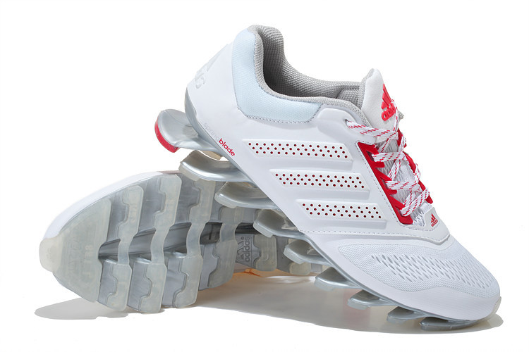 on sale e7997 9b1d0 ... basket adidas springblade drive30 haute a vendre white red ...
