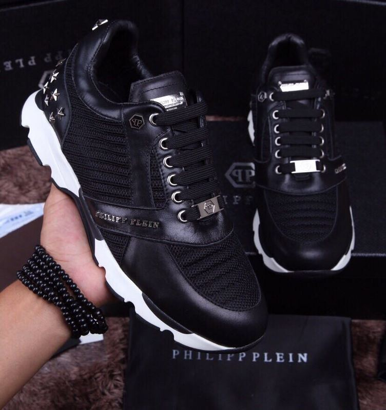 chaussure philipp plein sport homme mix black star