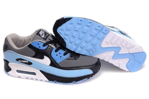 2014 Nouveau Style chaussures max 90,air max 90 blanc turquoise