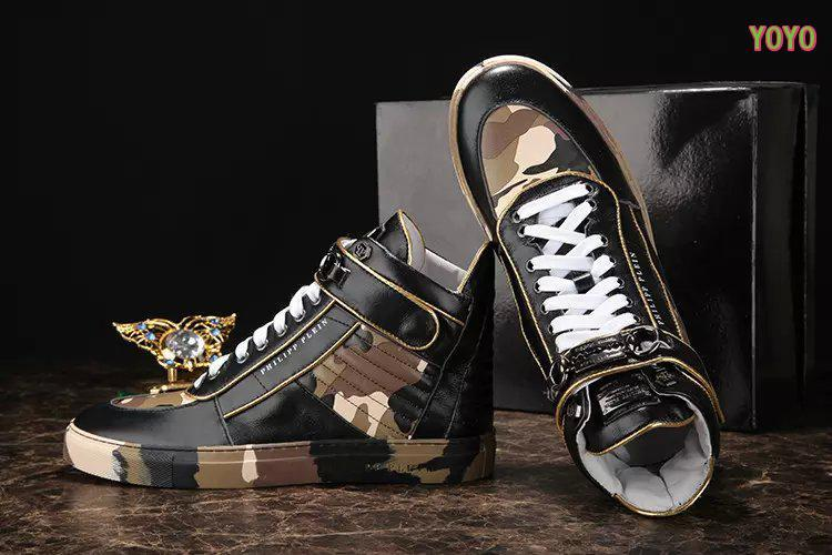 cuir philipp plein femmes hommes collections high  camouflage