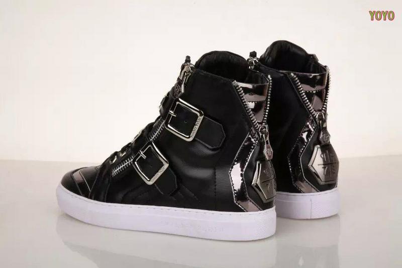 ... cuir philipp plein femmes hommes collections high leather black plein  Borderline Philipp Plein Femme sandales Chaussures ... 8f2d4f0056c