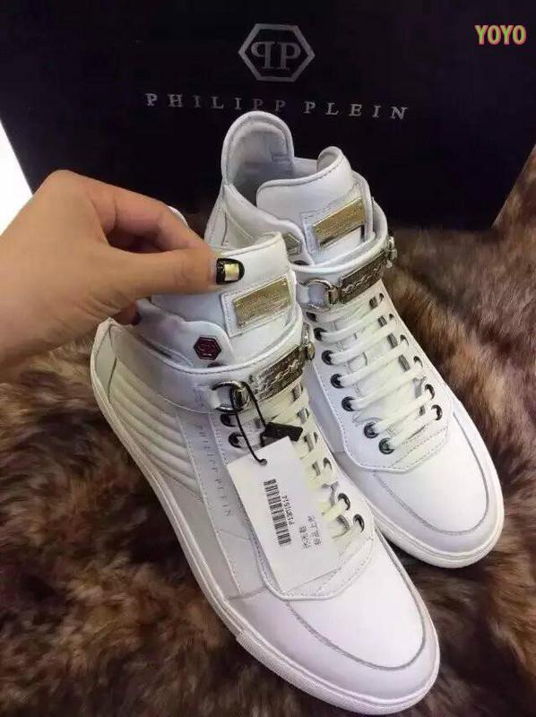 cuir philipp plein femmes hommes collections high fly white