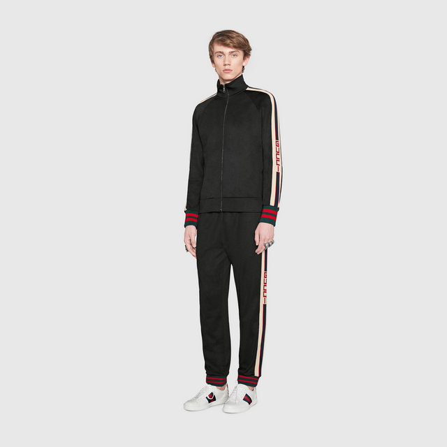 gucci blouson pantalon de survetement cool zipper