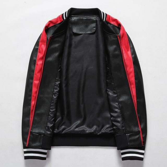 gucci embroidered leather jacket classic cuir jacket