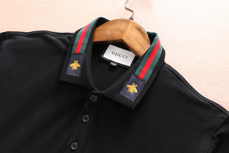 gucci hommes pants shorts and t-shirt unisex bee collar