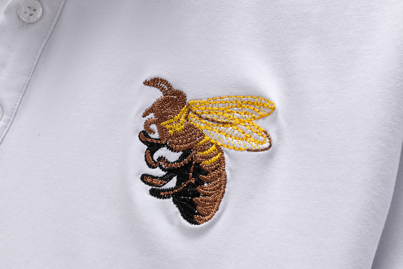 gucci hommes pants shorts and t-shirt unisex big bee embroidery