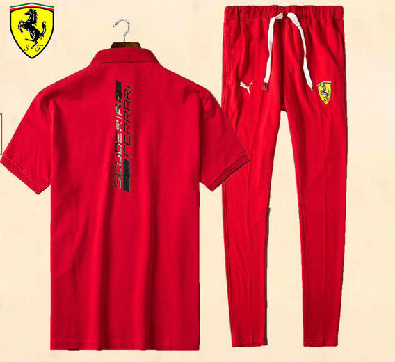 jogging survetement ferrari 2017 coton should black