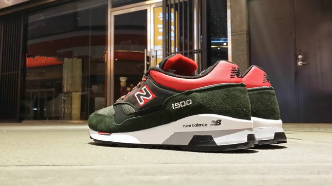 new balance running chaussures hommes green red