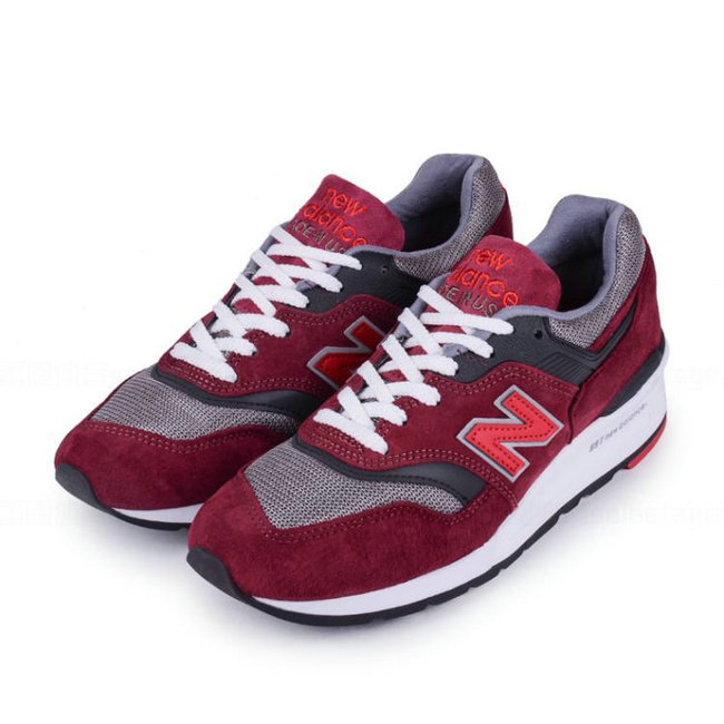 new balance running chaussures hommes hot rouge