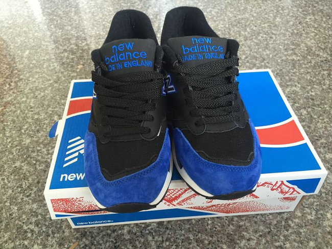new balance running shoes man noir blue
