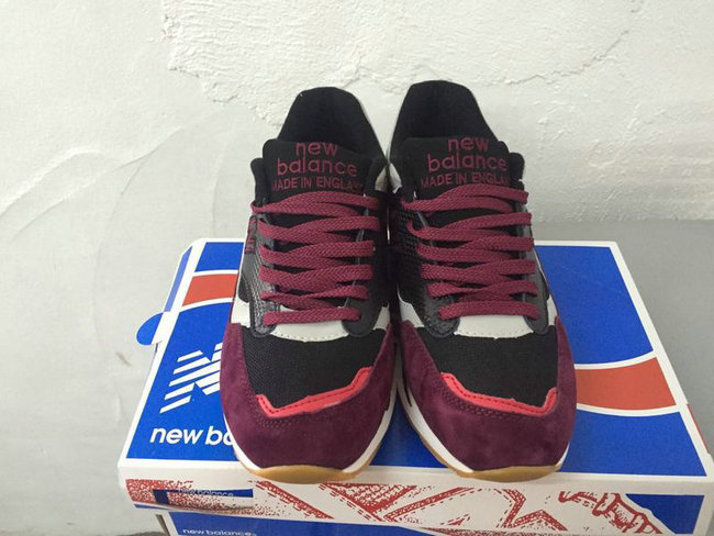 new balance running chaussures hommes rouge blance