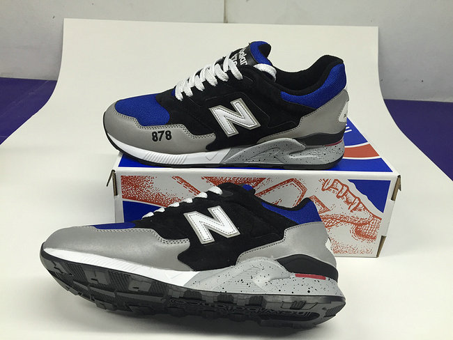 new balance running chaussures hommes silver blue sapphire