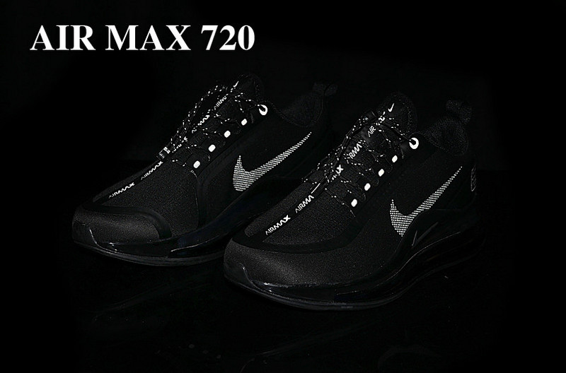 nike air max 720 2019 limited edition 720-020 black red logo
