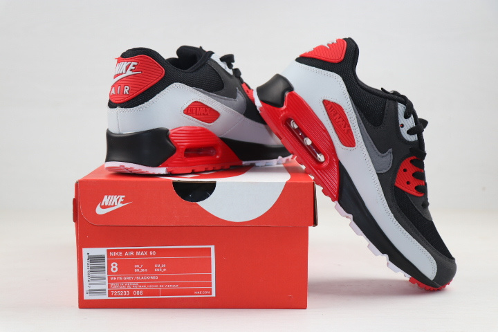 nike air max 90 essential man limited edition 725233-006 black red