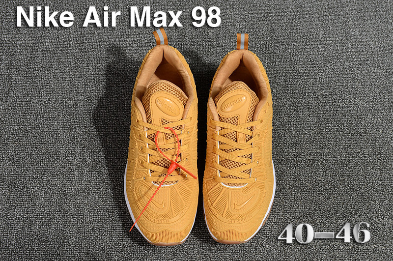 nike air max 98 france prix usine gold wheat