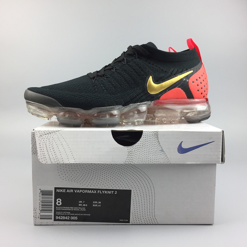 nike air vapormax femme qualite superieure 942842-005 red black