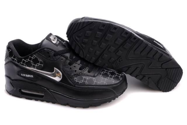 Vente En Gros Nouveau Style tiger nike air max 90 noir et orange,air max 90 black volt