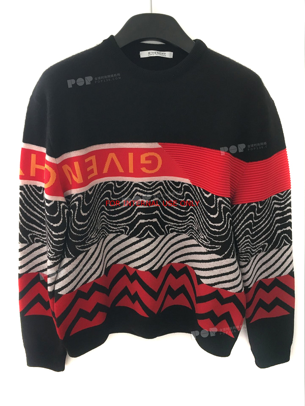 pull givenchy singe wave red