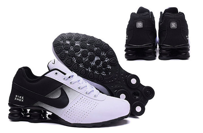 Fashion Running Nike Trend Classic Chaussures Shox Deliver Black OkXN08wPn
