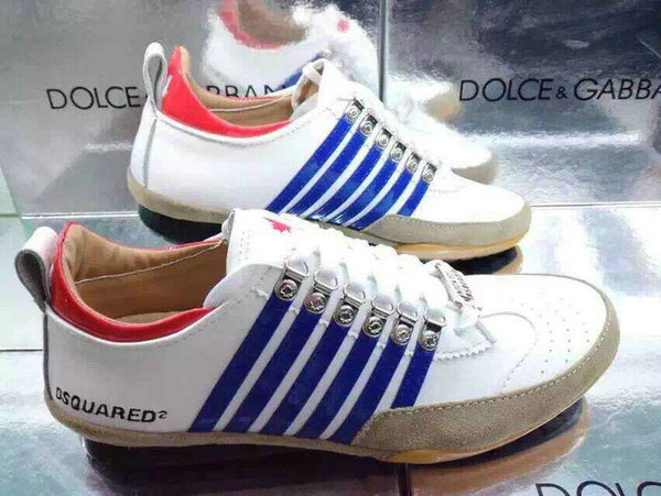 chaussures dsquared2 femmes pas cher chine 2015 chaussures dsquared2 hommes blanche italy bleu blanc