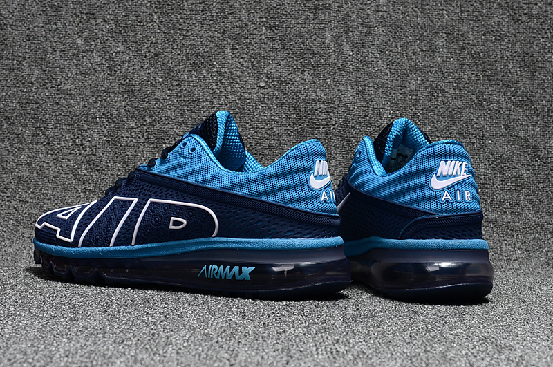 chaussures jogging course nike air max plus flair jade bleu fonce