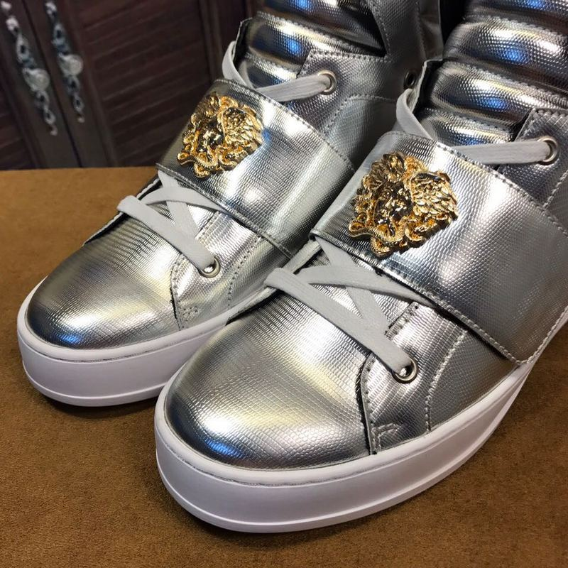 shoes versace jeans linea fondo running cool silver