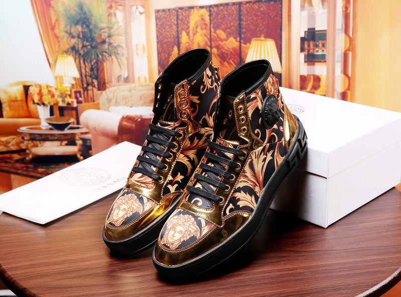 chaussures versace jeans linea fondo running sheep leather high