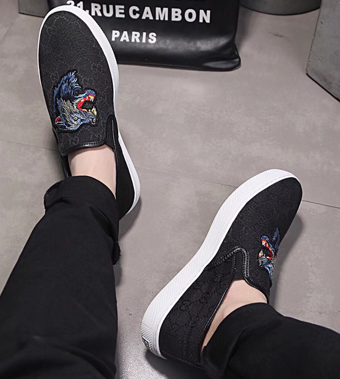 chaussures gucci edition limitee black wolf