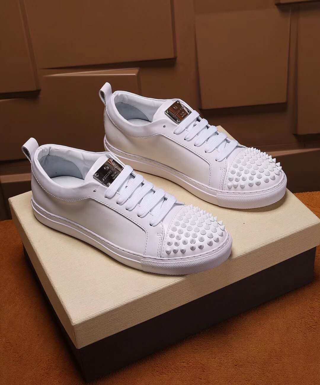 chaussures philippe mode all white